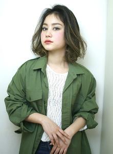 外国人風 ハイライトボブ|RENJISHI KICHIJOJIのヘアスタイル