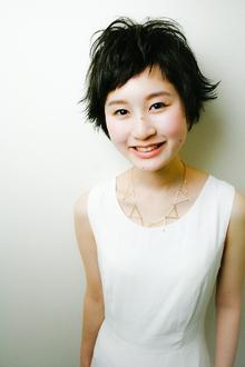 無造作がかわいいショートバングショート RENJISHI KICHIJOJIのヘアスタイル