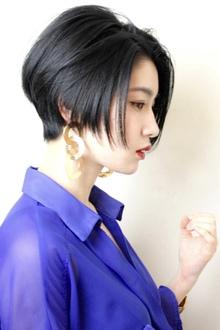 横顔がかっこいいショートボブ|RENJISHI KICHIJOJIのヘアスタイル