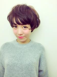 外人風やわらかマッシュショート RENJISHI KICHIJOJIのヘアスタイル