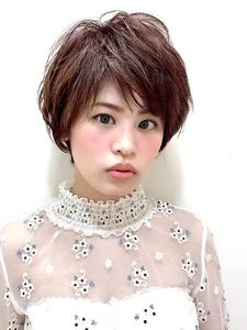 大人かわいいショートヘア|RENJISHI KICHIJOJIのヘアスタイル
