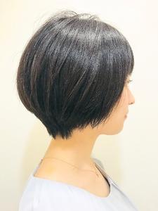 大人可愛いショートボブ|RENJISHI KICHIJOJIのヘアスタイル