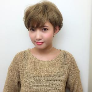 ハイトーンマッシュショート|RENJISHI KICHIJOJIのヘアスタイル