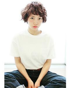 軽さと遊びのあるパーマショートスタイル|RENJISHI KICHIJOJIのヘアスタイル