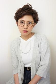 バング上げベリーショート|RENJISHI KICHIJOJIのヘアスタイル