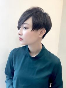 刈り上げ大人クールショート|RENJISHI KICHIJOJIのヘアスタイル