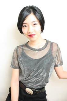 艶髪ショート|RENJISHI KICHIJOJIのヘアスタイル