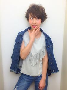 外ハネショート|RENJISHI KICHIJOJIのヘアスタイル