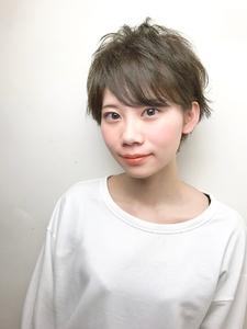 オリーブショート|RENJISHI KICHIJOJIのヘアスタイル