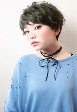 外ハネカールショート|RENJISHI KICHIJOJIのヘアスタイル