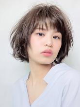 色っぽニュアンスボブ RENJISHI KICHIJOJI 松岡 健士郎のヘアスタイル
