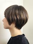 ハイライトを効かせたシルエットショート|RENJISHI KICHIJOJIのヘアスタイル