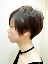 ネープレスベリーショート RENJISHI KICHIJOJI 松岡 健士郎のヘアスタイル