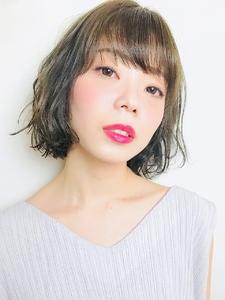 アッシュベージュボブ|RENJISHI KICHIJOJIのヘアスタイル