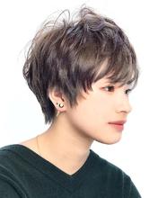 シルバーアッシュショート|RENJISHI KICHIJOJIのヘアスタイル
