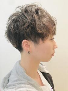 甘辛MIX刈り上げツーブロックショート|RENJISHI KICHIJOJIのヘアスタイル