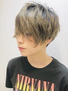 ROCKエッジショート|RENJISHI KICHIJOJIのヘアスタイル