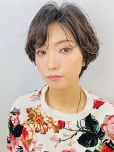 ニュアンスハンサムショート|RENJISHI KICHIJOJIのヘアスタイル