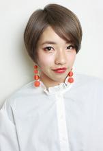 ナチュラルハイトーンショート|RENJISHI KICHIJOJI RUMIのヘアスタイル