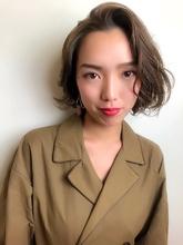 トレンチボブ|RENJISHI KICHIJOJI RUMIのヘアスタイル