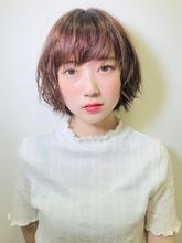 ニュアンスショートボブ|RENJISHI KICHIJOJI 大川 椋のヘアスタイル