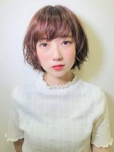 ニュアンスショートボブ|RENJISHI KICHIJOJIのヘアスタイル