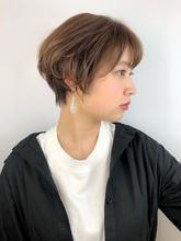 ふんわりナチュラルショート|RENJISHI KICHIJOJI RUMIのヘアスタイル