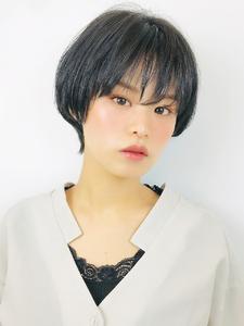 黒髪大人ショート|RENJISHI KICHIJOJIのヘアスタイル