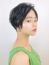 クールな刈り上げショートスタイル|RENJISHI KICHIJOJIのヘアスタイル