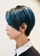 マリンブルーショートスタイル|RENJISHI KICHIJOJIのヘアスタイル