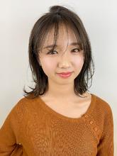 柔らかミディレイヤー|RENJISHI KICHIJOJIのヘアスタイル