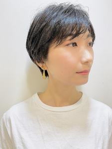 大人可愛いセリーヌショート|RENJISHI KICHIJOJIのヘアスタイル