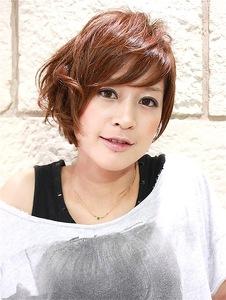 ショートスタイルのかっこ可愛いアシンメトリー|RENJISHI KICHIJOJIのヘアスタイル