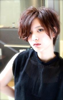 ナチュラルクールショート|RENJISHI AOYAMAのヘアスタイル