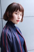 カジュアルショート|RENJISHI AOYAMA 津田 弘美のヘアスタイル