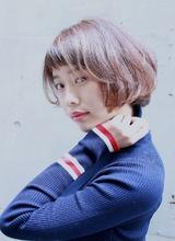 透明感のあるショートボブ|RENJISHI AOYAMA 津田 弘美のヘアスタイル