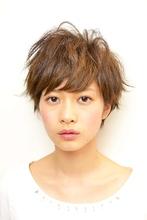ラフな動きのレイヤーショート|RENJISHI AOYAMA 本橋 寛道のヘアスタイル