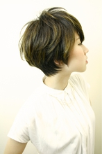 スタイリッシュショート☆|RENJISHI AOYAMAのヘアスタイル