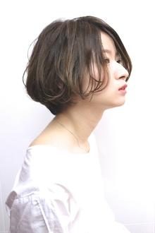 ナチュラルBOB|RENJISHI AOYAMAのヘアスタイル