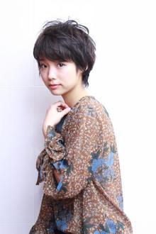 襟足長めなベリーショート|RENJISHI AOYAMAのヘアスタイル