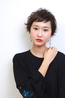 オン眉ベビーショート|RENJISHI AOYAMAのヘアスタイル