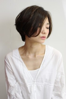 ショートボブパーマ|RENJISHI AOYAMAのヘアスタイル