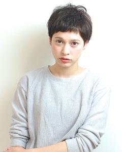女の子らしいベリーショート|RENJISHI AOYAMAのヘアスタイル