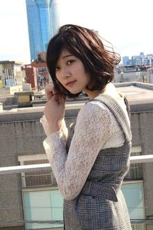 ガーリーボブ|RENJISHI AOYAMAのヘアスタイル