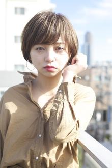 ベリンダショート RENJISHI AOYAMAのヘアスタイル