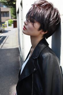 ラフクールショート RENJISHI AOYAMAのヘアスタイル