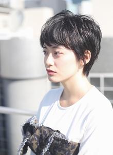 グロッシーショート☆ RENJISHI AOYAMAのヘアスタイル