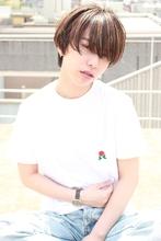 ワイドバングマッシュショート|RENJISHI AOYAMA 佐藤 真里のヘアスタイル