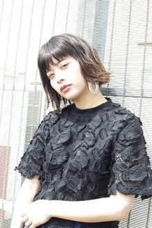 大人可愛い外ハネボブ RENJISHI AOYAMAのヘアスタイル