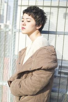 シルエットカーリーショート RENJISHI AOYAMAのヘアスタイル
